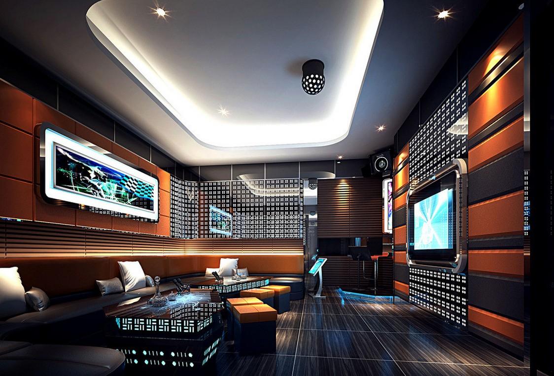 Thiết kế thi công nội thất quán Karaoke