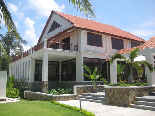 Xây dựng khu Resort