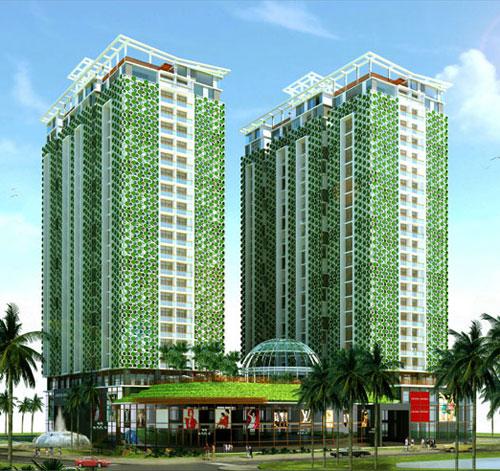 Xây dựng khu chung cư, cao ốc