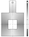 Tấm Orifice vuông