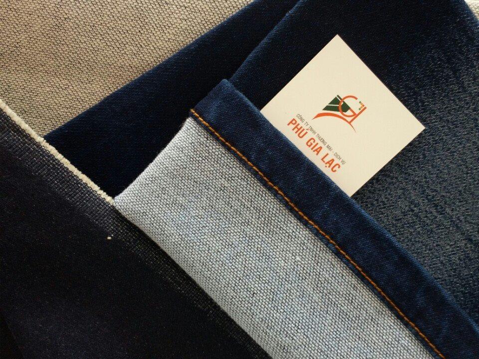 Vải jean thun lụa