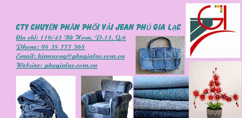 Vải jean Phú Gia Lạc