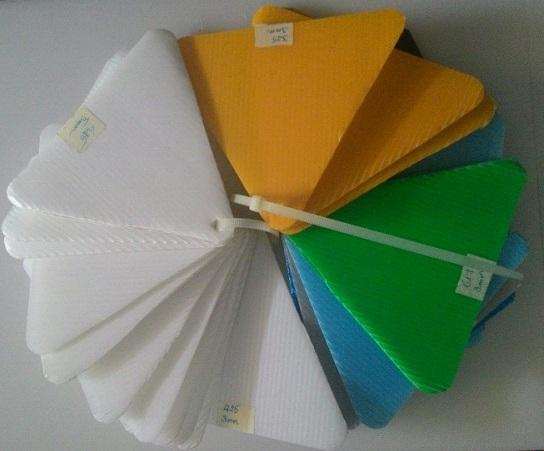 Tấm nhựa PP Danpla màu
