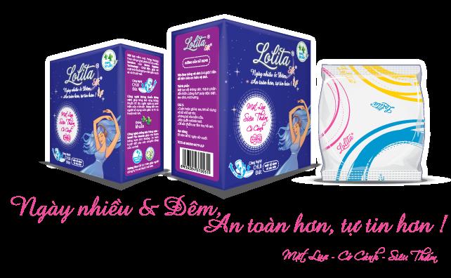 Băng vệ sinh Lolita