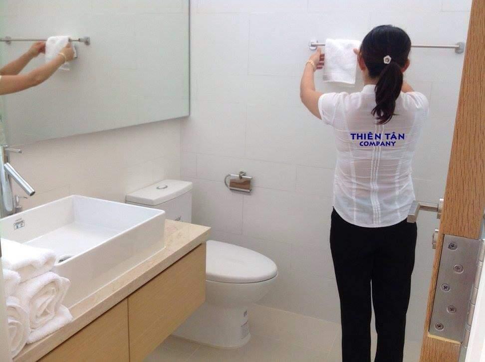 Dịch vụ vệ sinh buồng phòng