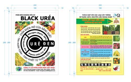 Phân bón khoáng hữu cơ Black Uréa