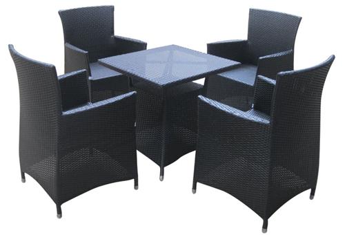Bộ bàn ghế nhựa giả mây