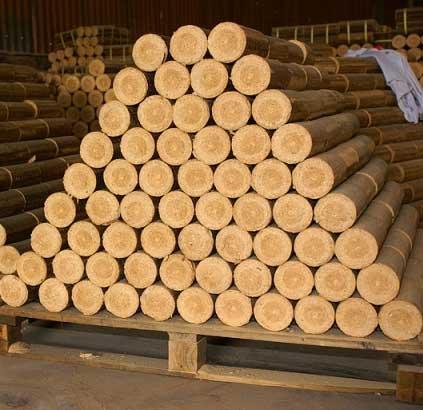 Củi gỗ ép thanh