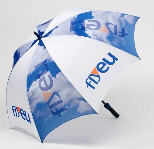 In trên ô dù