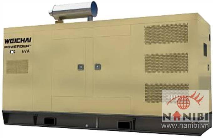 Máy phát điện Weichai wpg550