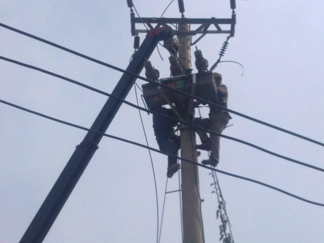 Thi công đường dây điện 22kV