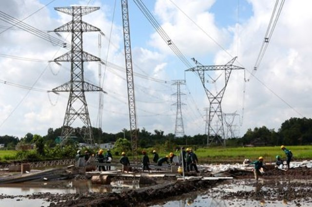 Thi công đường dây điện 110-500kV