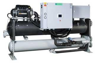 Cụm máy Chiller giải nhiệt nước 30HP