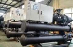Cụm máy Chiller trục vít 40HP