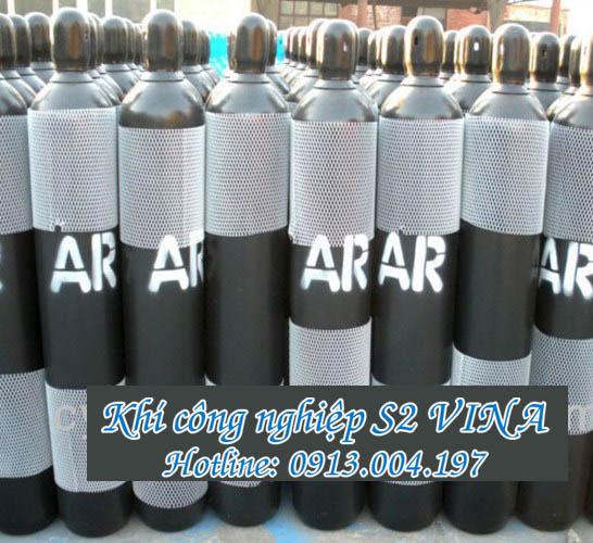 Bình khí Argon