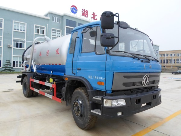 Sewage suction truck