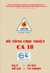 Bê tông chịu nhiệt CR18