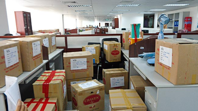 Dịch vụ đóng gói đồ văn phòng