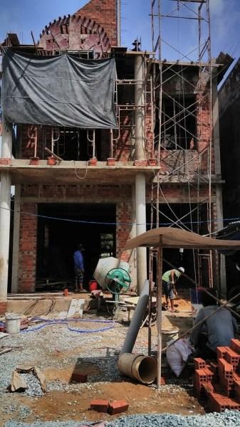 Thi công xây dựng nhà phố - biệt thự