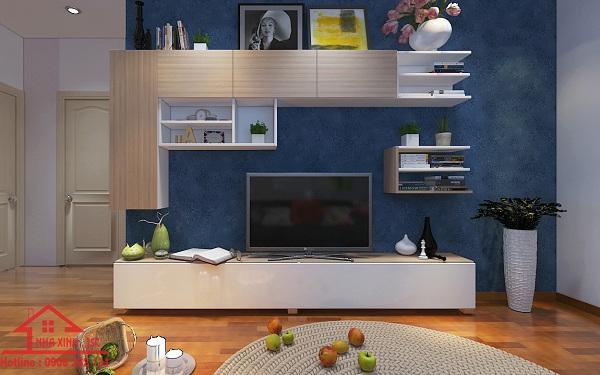 Thiết kế căn 2 phòng ngủ Anh Đăng HH1b