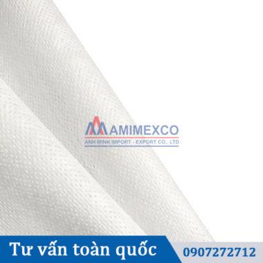 Vải khăn ướt dạng lưới