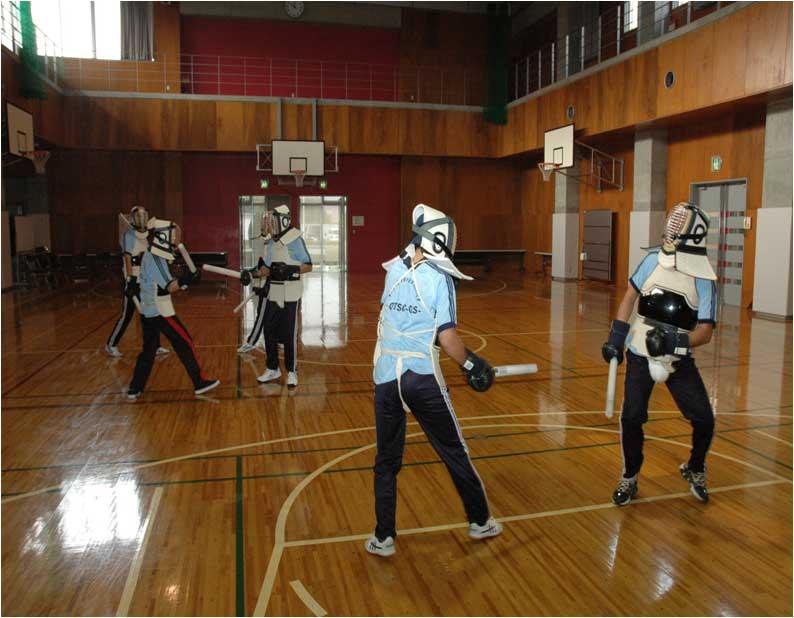 Tập huấn võ thuật tại Nhật Bản