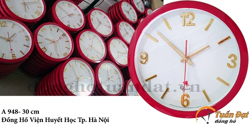 Đồng hồ trao tường in quảng cáo