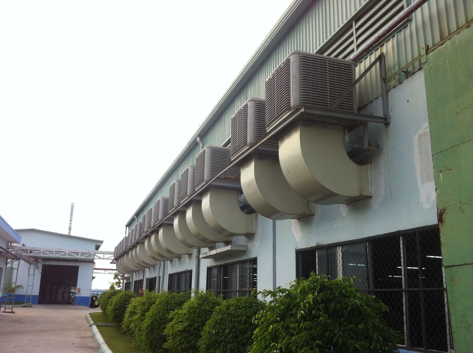 Hệ thống thông gió xưởng nhuộm