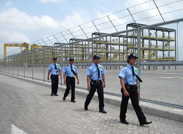 Bảo vệ nhà máy