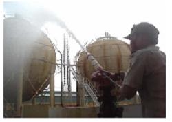 khí chữa cháy gas