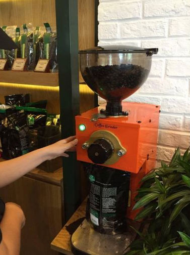 Máy xay cà phê
