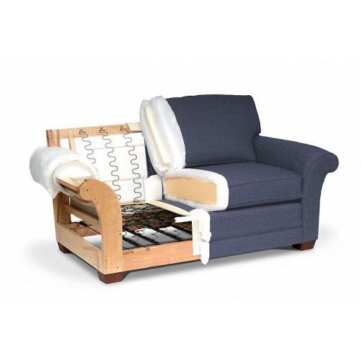 Ván ép sản xuất ghế bọc đệm