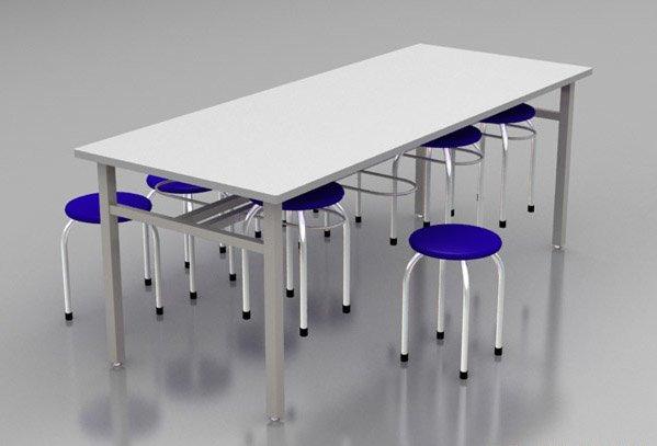 Bàn ghế ăn công nghiệp