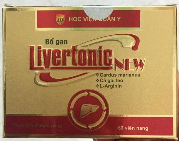 Bổ gan Livertonic New