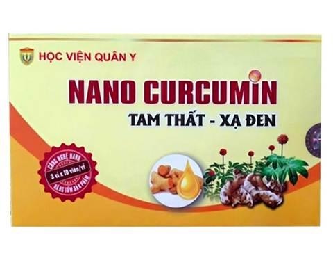 Nanocurcumin Tam thất - Xạ đen