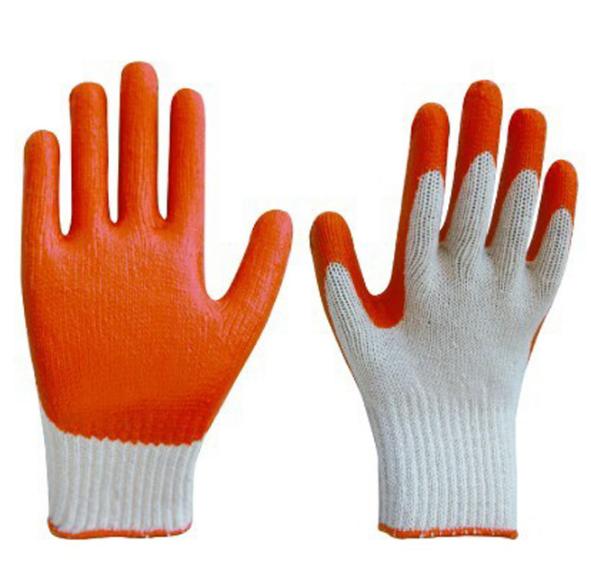 Găng tay len tráng nhựa