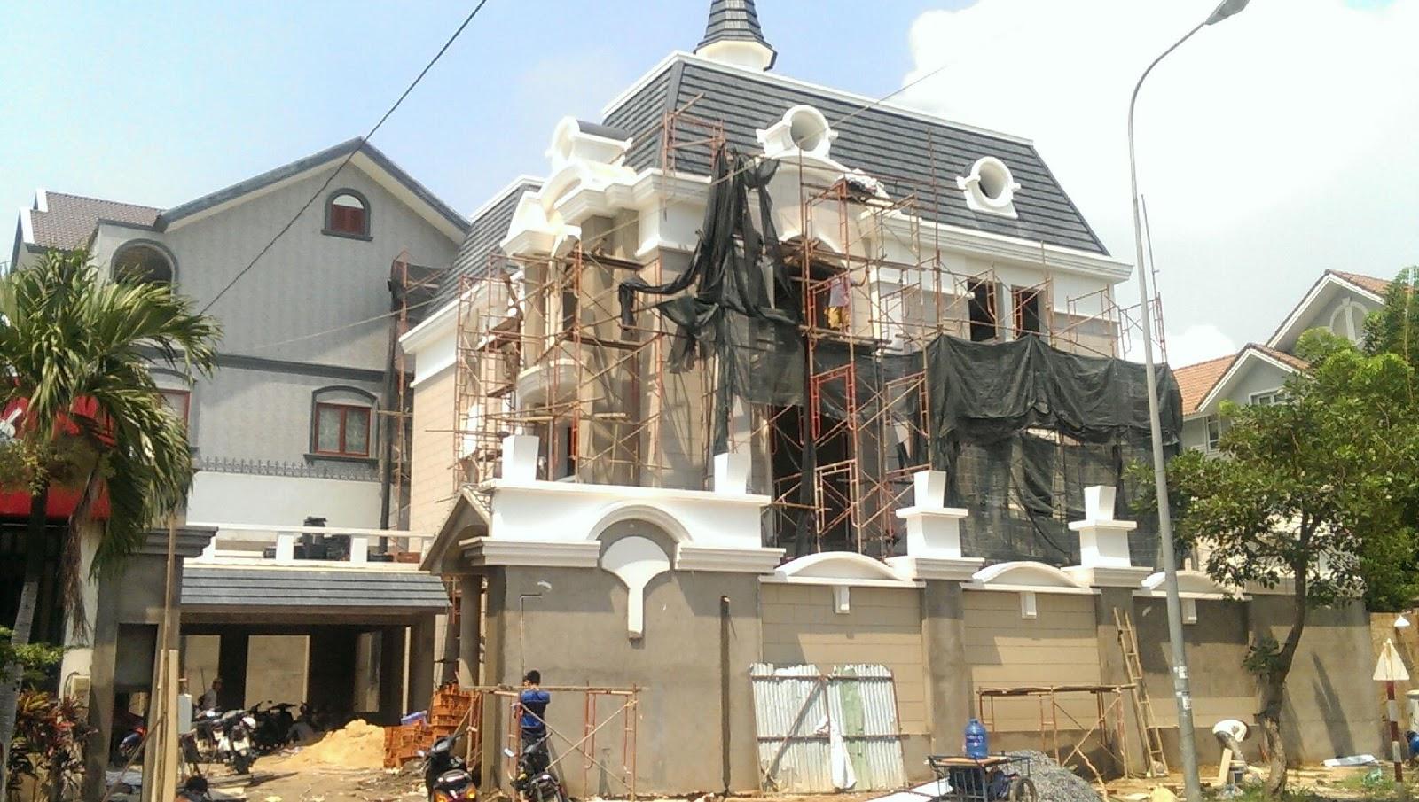 Xây dựng nhà phố, biệt thự