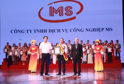 Đạt top 50 thương hiệu Việt