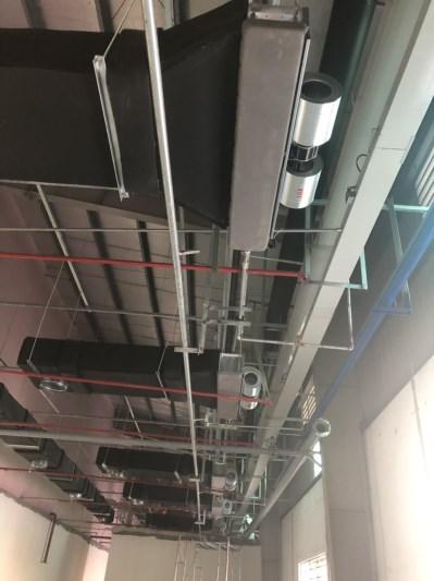 Hệ thống điện nước, thông gió