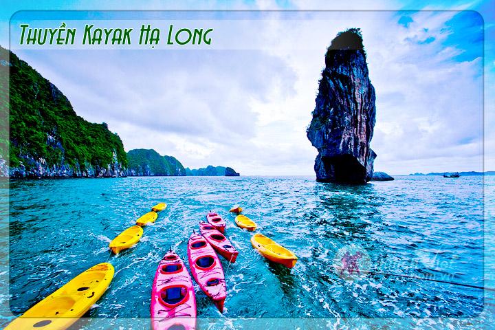 Du lịch thuyền Kayak, Hạ Long