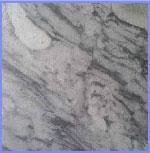 Đá cẩm thạch trắng đen