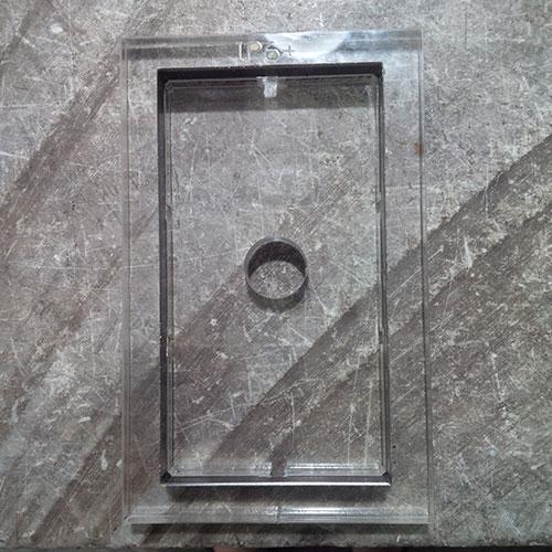Khuôn bế chất da Iphone 6 plus