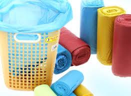 Cuộn túi đựng rác màu