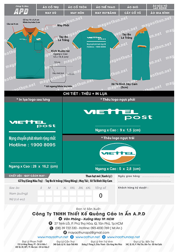 áo Viettel Post