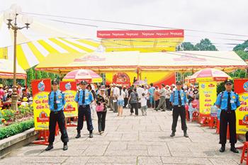 Bảo vệ sự kiện, lễ hội