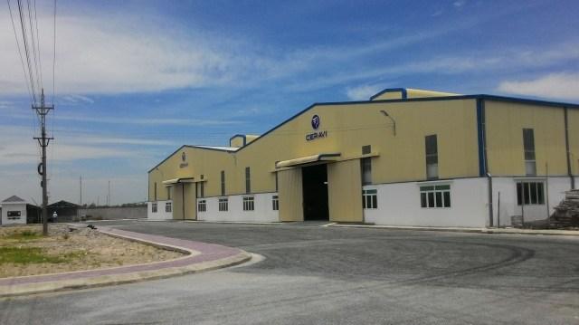 Công trình nhà máy sứ CERAVI
