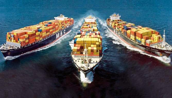 Dịch vụ vận chuyển quốc tế đường biển