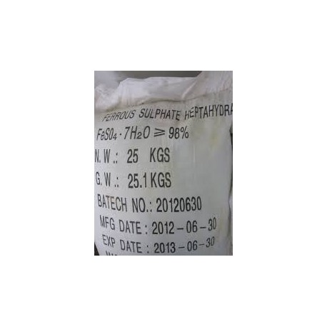 FeSO47H2O - Ferous Sulphate Hepta 99%