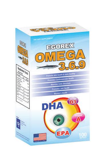 Dầu Cá Egorex Omega 369