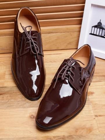 Giày tây da bóng